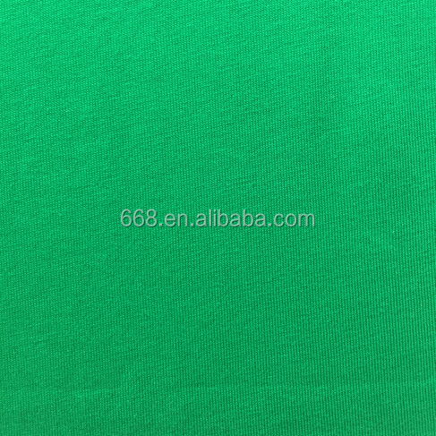 26S combed cotton plain dyed single jersey fabric