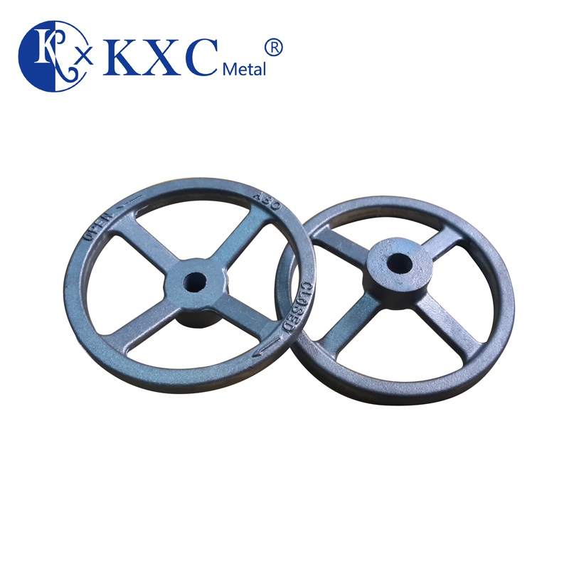 Cast iron hand wheel for valve