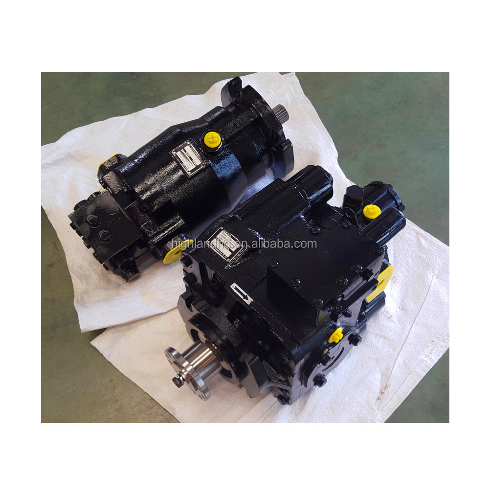 hydraulic bent axis piston motors