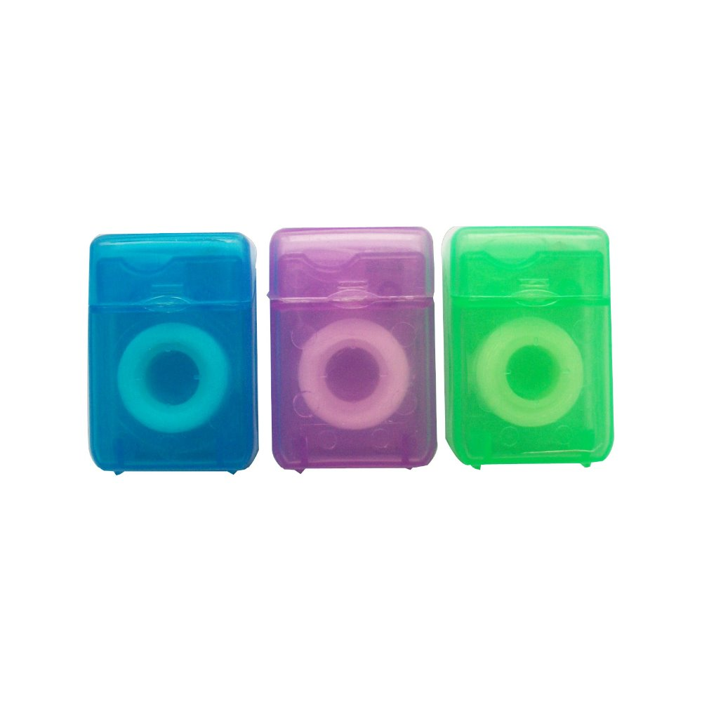 Dental flosser 15M cute colorful box dental floss