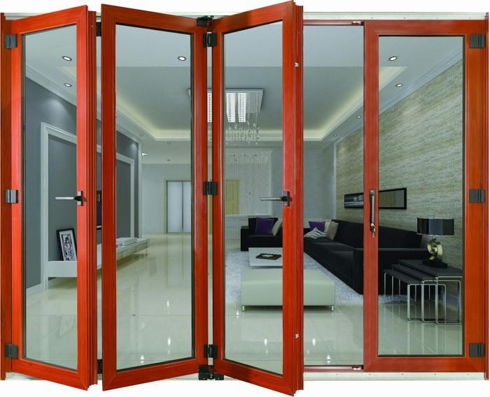Puertas De Cristal Plegables. Amazing Simple Plegables With De ...