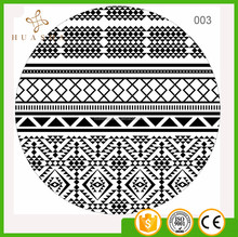 Factory Direct Sales Cheap 1500MM Diameter roundie beach towel Blanket for picnic resort shore and Beach