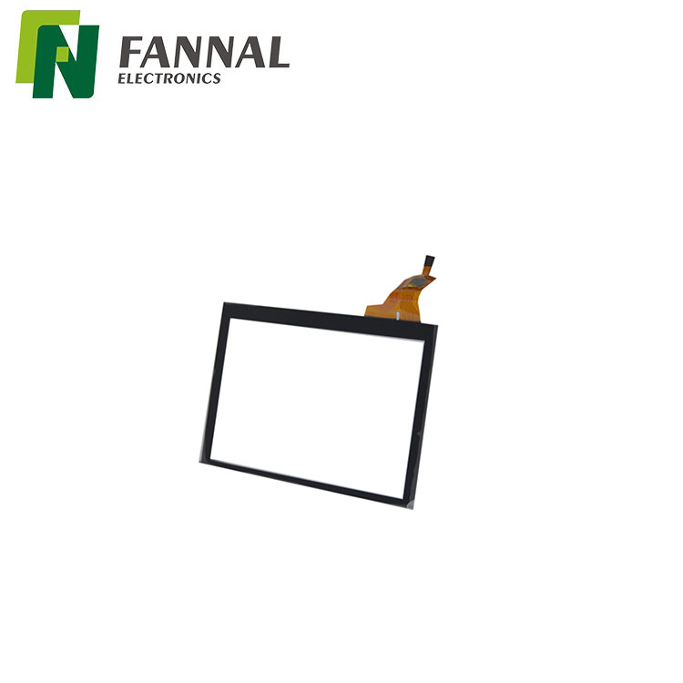 USD/I2C interface with 7 inch 800*480 capacitive touch screen from FANNAL