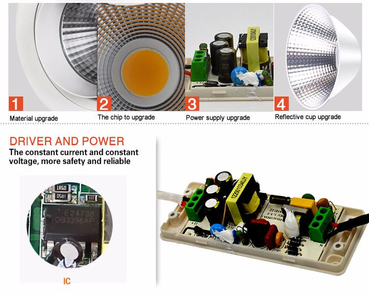 Leimove round dimmable led downlights custom made for wholesale-12