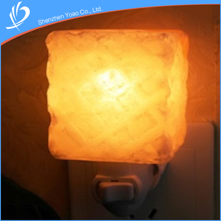 Pressure Relief Function Crystal Himalayan Salt Lamp Night Light