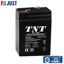 Popular 6v 5ah mf rechargeable sealed lead acid battery