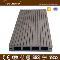 High-definition grain pattern composite wood decking