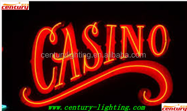 Neon casino sign casino leicester