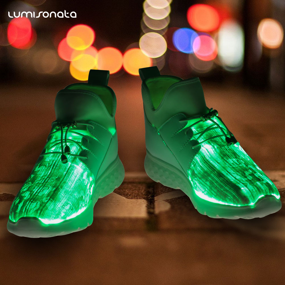 LED shoes light Casual charging 7 colors with sport w1tw5nqp