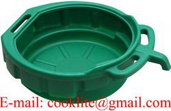 15L Oil Drain Pan Green
