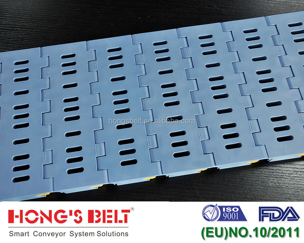 Patented Modular Plastic Conveyor Belt in Car Washing Heavy Duty Conveyor System