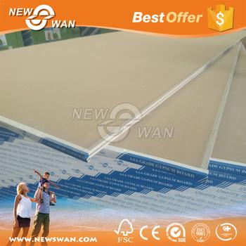 plasterboard drywall knauf gypsum board standard size buy gypsum board gypsum board standard. Black Bedroom Furniture Sets. Home Design Ideas