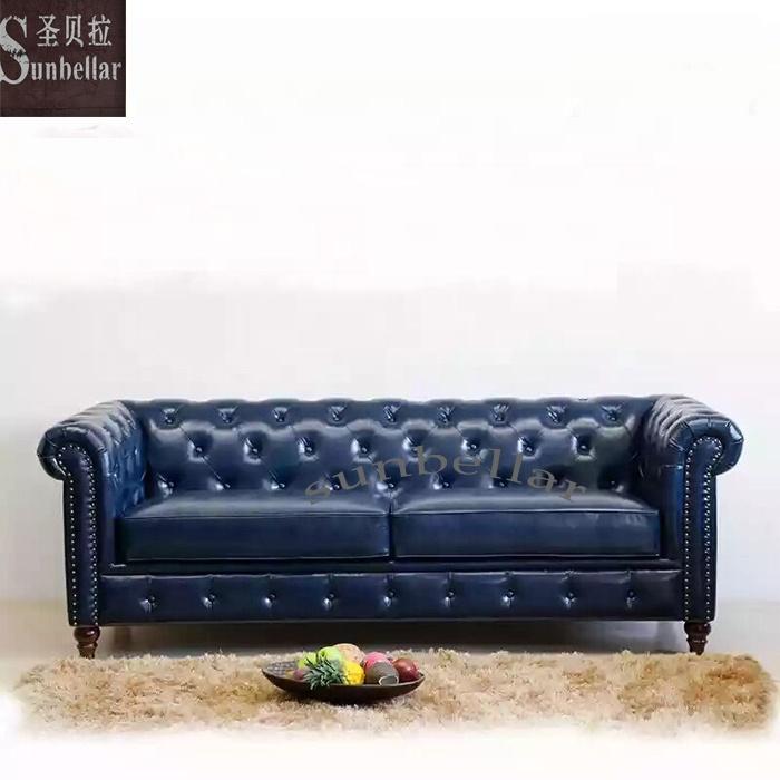 Factory Custom Leather Sofa Set