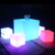 led cocktail bar table indoor outdoor luminous led light cube seat chair lighting