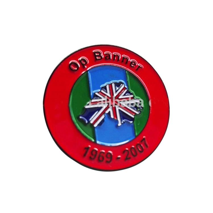 Commemorare risvolto Pin Su Misura A Buon Mercato Britannico Bandiera Dello Smalto del Metallo Pin Badge