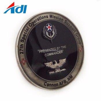China manufacturers custom NAVY military challenge souvenir epoxy coins for sale
