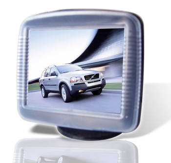 "3.5"" tft MONITOR WITH camera and parking sensor"