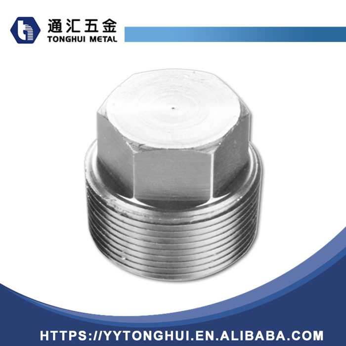 high end unique manufactory supply femalethreaded hexagon plug casting pipe <strong>fittings</strong>