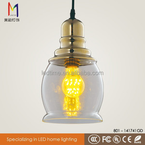Classic bronze chandelier lamp industrial brass copper light fittings for home decoration