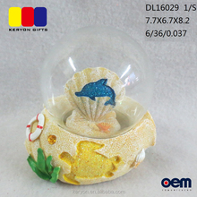 Home Decor Hars shell souvenirs <span class=keywords><strong>sneeuwbal</strong></span>