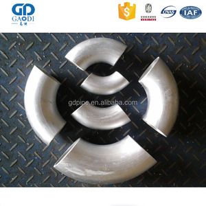 Iso Stainless Steel 180 Degree Forged China Flanged Elbow