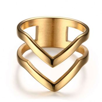 hollow costume jewelry wedding rings gold 18k stainless steel gold