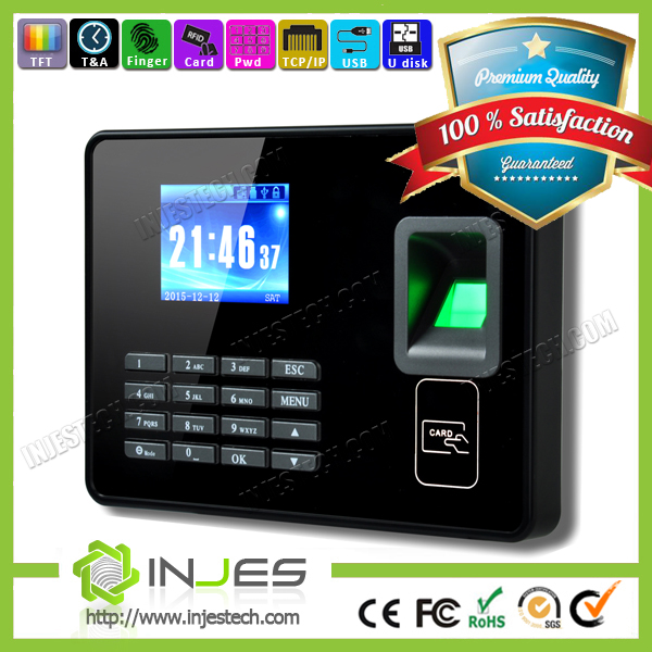 USB Fingerprint Time Clock Free Online Timesheets For Employees (MYA8)