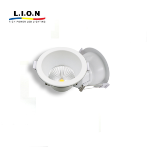 High quality cob 7 watt dimmable mini trimless led downlight housing