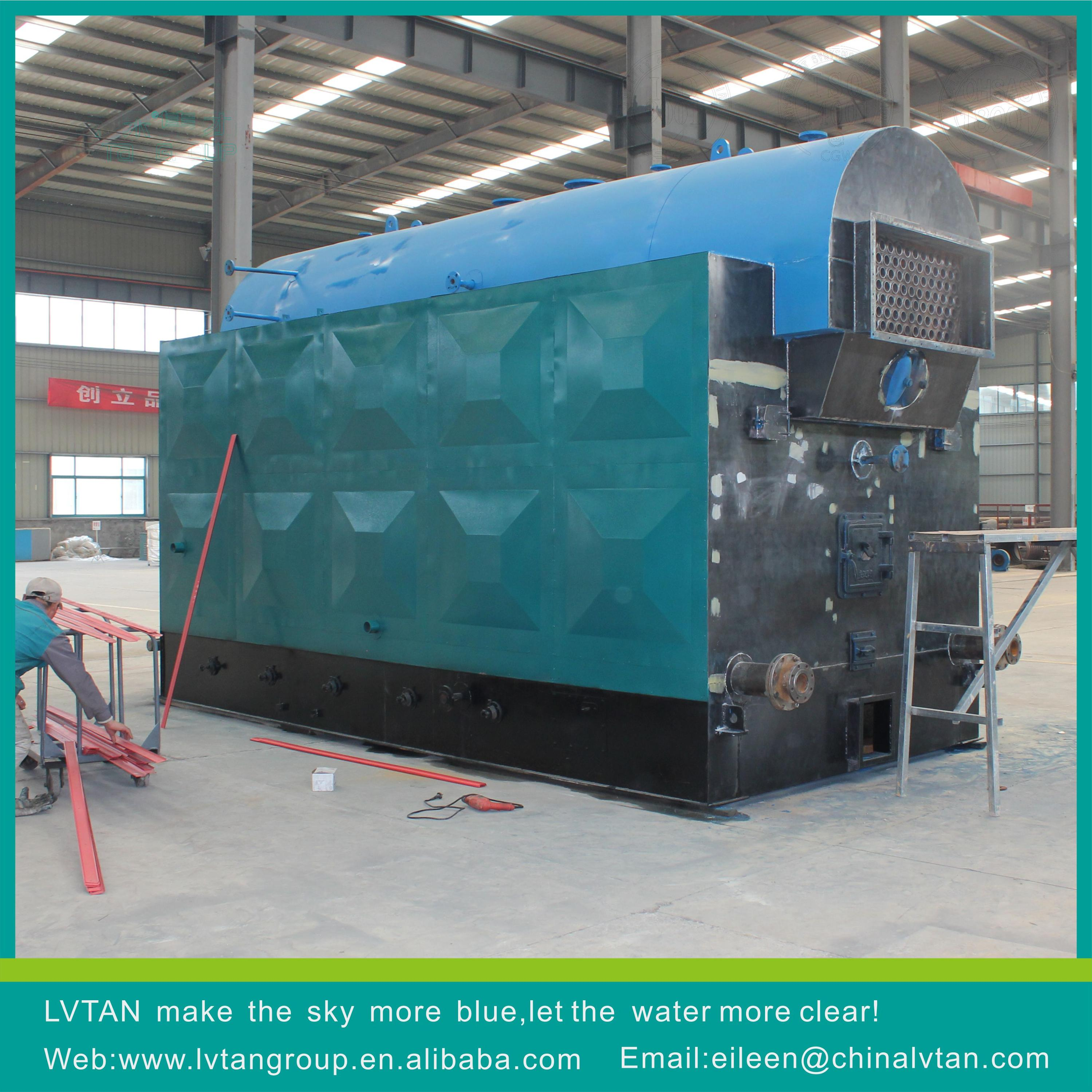 Lvtan Brand Factory Price Chain Grate Biomass Pellet Wood Fired