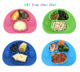 Wholesale Mini Size Silicone Baby Placemat Kids Feeding Mat Mushroom Silicone Mat Plate With Strong Suction Cup