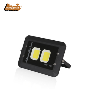 Aluminum Housing Building Focus Outdoor Waterproof IP65 led flood light 100w