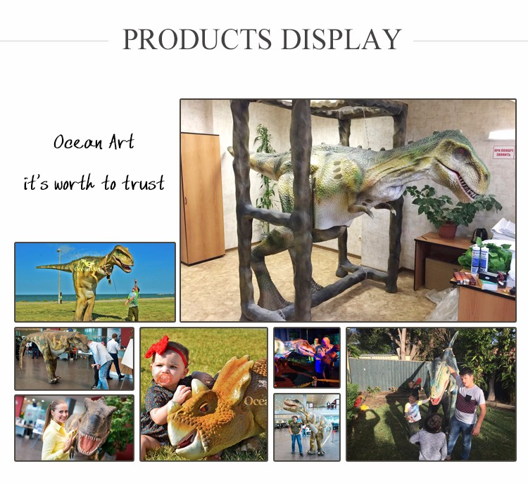 OA6719 Theme Park Real Adult Dinosaur Costume