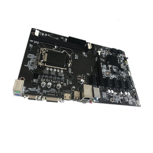 Hot sale H81 Bitcoin Mining Motherboard With 6PCI-E Slot Support Intel i3/i5/i7 Processor