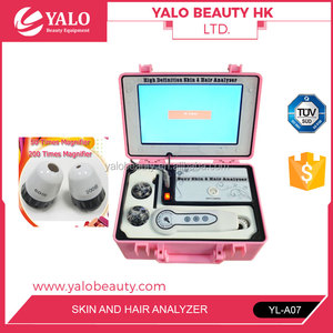 YL-A07 Skin Scanner Skin Hair Analyzer with 10 Inch LCD Screen For Beauty Salon Use