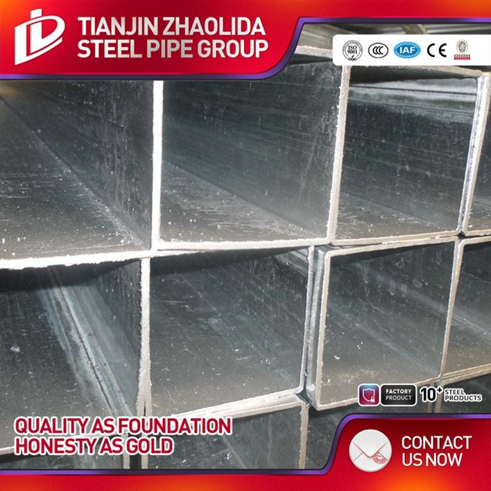 hot selling china pre galvanized steel asian tube with factory price