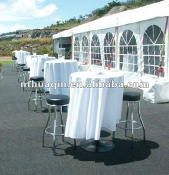Bistro Polyester Table Cover Cocktail Tablecloth Party And Catering Table  Linens