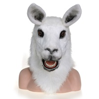 Llama moving mouth mask export/ import manufacture factory