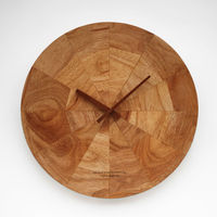 DM-6 Round Shape Antique Wall Clock with Wooden Clock Hands
