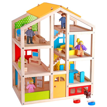 Large Wooden Dolls House Furniture