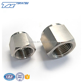 China custom high quality stainless steel hex nut fitting