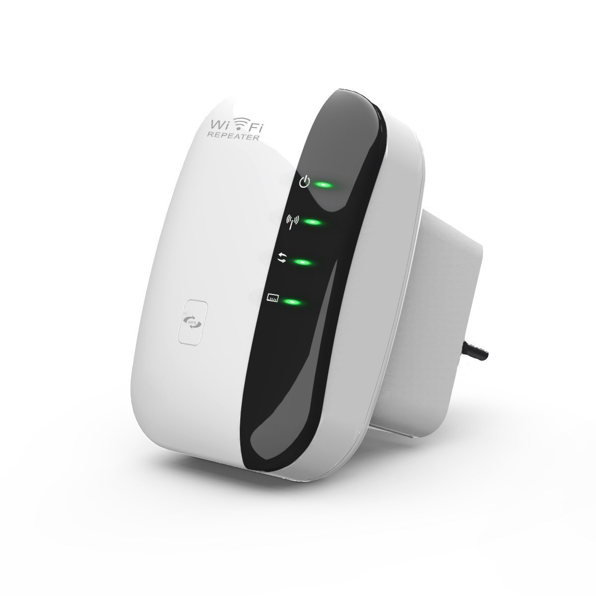 Laptone 300Mbps Enhanced Wireless-N Repeater/AP with WPS,Wi-Fi Range Extender,With 1 Ethernet port