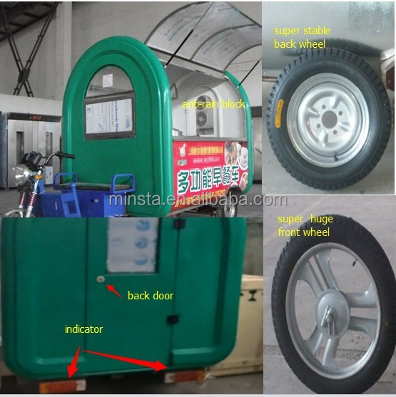 Food, Snack and others you want Application and New Condition Mobile Food Trailer Food Cart Cooking Trailer
