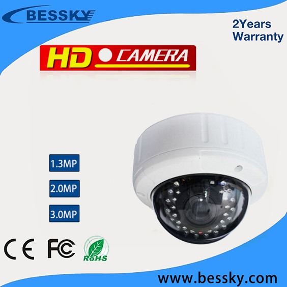 hot sale outdoor wifi 3MP AHD camera with long distance 30 pcs IR LED waterproof AHD security cctv bullet camera system