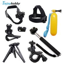Monopod Tripod Holder+Handlebar Head Floating Mount for Sony Action Cameras HDR-AS100v AS10 AS15 AS20 AS30V FDR-x1000v Gopro 4