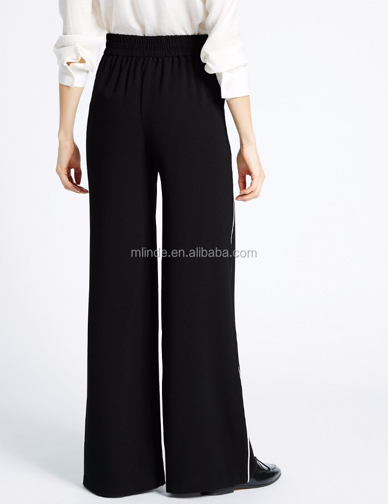Indian Pakistan Womens Plus Size Flared Palazzos Trousers Wide Leg Summer Pants