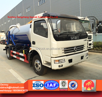 6000liters sewer cleaning truck, sewage disposal truck for sale