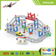 Children Toy DIY Creative Assembly Plastic Road Racing Track Set