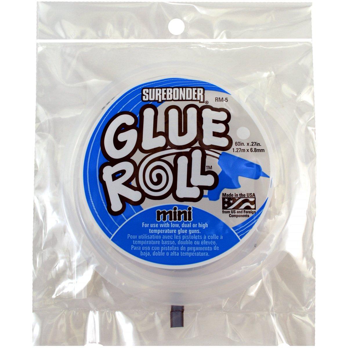 Surebonder RM-5 All-Temperature Glue Roll, 60in. x 27in./Mini/5'