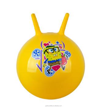 Hippity Hop >> Kids Inflatable Hopper Ball Hippity Hop Bouncy Jumping Ride Toy