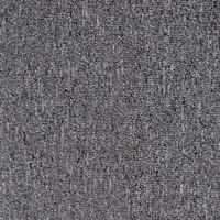 Dark Grey 50x50cm Nylon Yarn with PVC Backing Berber Carpet Tiles